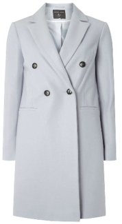 dorothy perkins blue coat 59-37