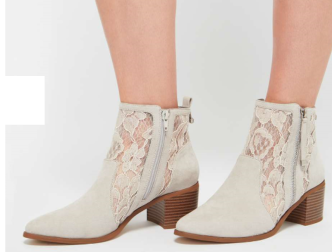 miss selfridge lace boots 45-15